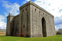 Hermitage castle, Scotland Royalty Free Stock Photography