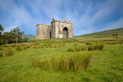 Hermitage Castle, Scottish Borders Stock Image