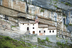 Hermitage, churc San Colombano Stock Images