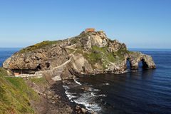 Hermitage in the coast Royalty Free Stock Photos