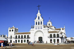 Hermitage of El Rocio. Province of Huelva, Andalusia, Spain Royalty Free Stock Image