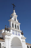 The Hermitage of El Rocio, Spain Stock Photos