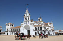 Hermitage of El Rocio. Spain Stock Images