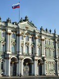 Hermitage - famous Russian landmark royalty free stock photo