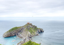 Hermitage of Gaztelugatxe Royalty Free Stock Photography