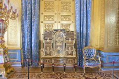 The Hermitage Golden living room of the winter Palace Stock Photo