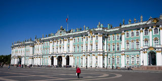 Free Hermitage In St. Petersburg Royalty Free Stock Photo - 19840065