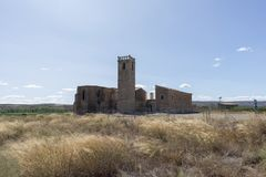 Hermitage. In the interior of the province of Lleida in Catalonia Royalty Free Stock Photography