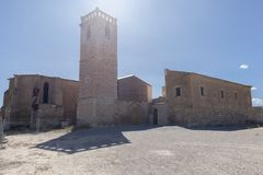 Hermitage. In the interior of the province of Lleida in Catalonia Royalty Free Stock Photo