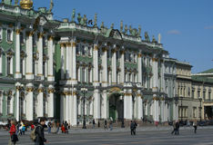 Hermitage Museum Building Royalty Free Stock Photos