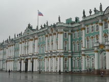 Hermitage Museum facade in Russia Royalty Free Stock Image
