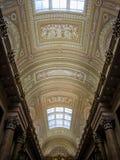 Hermitage Museum, interior. Ceiling in the Hermitage Museum in St. Petersburg, Russia Stock Photos