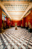 Hermitage museum in Saint Petersbourg, Russia. The Hermitage museum, former winter residence of the Russian Tzar Royalty Free Stock Images