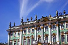 Hermitage museum in Saint-Petersburg city, Russia. Stock Photography