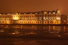 Hermitage Museum Saint Petersburg Royalty Free Stock Photo
