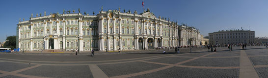 Hermitage Museum in Saint Petersburg Stock Photos