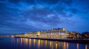 Hermitage Museum in Saint Petersburg Russia Stock Images
