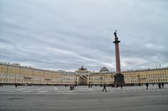 Hermitage Museum Square Royalty Free Stock Image