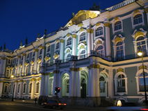 Hermitage museum in St. Petersburg. (Russia Royalty Free Stock Images