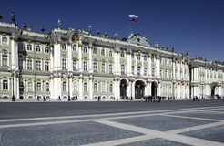 Hermitage Museum - St Petersburg - Russia Royalty Free Stock Photography