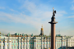 Hermitage Museum, St. Petersburg, Russia. Stock Image