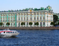 Hermitage museum in St. Petersburg, Russia. royalty free stock photography