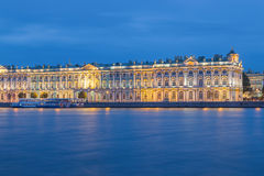 Hermitage Museum at St.Petersburg, Russia Stock Photos