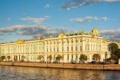 Hermitage Museum - Winter palace of Russian kings, Saint Petersburg, Russia Stock Photos