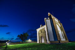 Hermitage of Our Lady of Guia.Ribadesella. Stock Photos