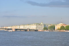 The Hermitage and the Palace bridge. Stock Photography