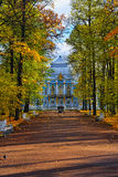 The Hermitage  pavilion in Catherine park in Pushkin Royalty Free Stock Photography