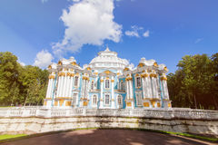 Hermitage Pavilion Catherine royal park Royalty Free Stock Images