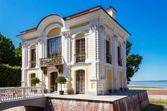 Hermitage pavilion in peterhof Royalty Free Stock Image