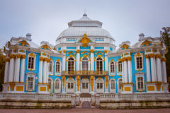Hermitage in Pushkin. Pushkin is a municipal town in Pushkinsky District of the federal city of St. Petersburg, Russia Stock Images