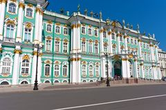 Hermitage in Saint Petersburg Stock Image