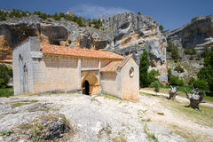 Hermitage of San Bartolome Royalty Free Stock Photos