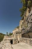 Hermitage of San Bartolomeo Italy. Hermitage of San Bartolomeo in Legio Italian: Eremo di San Bartolomeo in Legio is an hermitage located in Roccamorice Stock Image