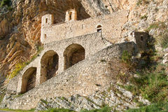 Hermitage of san cataldo Royalty Free Stock Images