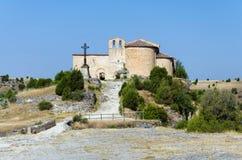 Hermitage of San Frutos. Hoces del Duraton, Segovia, Spain Stock Image