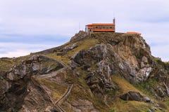 Hermitage San Juan de Gaztelugatxe Stock Images
