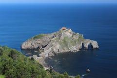 Hermitage San Juan of Gaztelugatxe Royalty Free Stock Photography