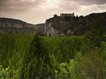 The hermitage of San Pelayo, from monastery Royalty Free Stock Image