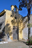 Hermitage of Sant Cebri. St.Cebri Hermitage in Collserola near Barcelona Royalty Free Stock Image