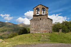 Hermitage of Sant Quirc in Durro Stock Photos