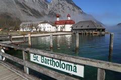 Hermitage of St. Bartholomew Stock Photo