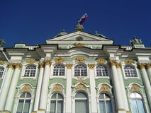Hermitage, St.Petersburg. Winter Palace - Hermitage museum in St.Petersburg, Russia Royalty Free Stock Photography