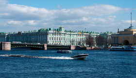 The Hermitage in St Petersburg Stock Images