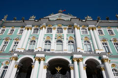 Hermitage in st. petersburg Royalty Free Stock Image