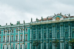 The Hermitage in St. Petersburg Royalty Free Stock Images