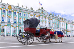 The Hermitage in St. Petersburg Stock Images